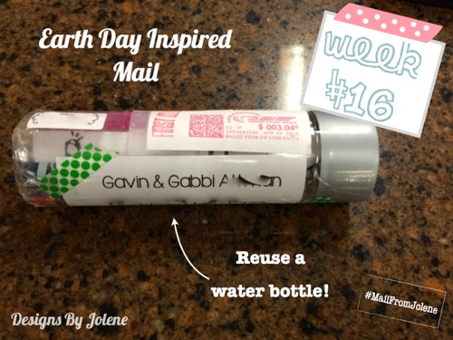 52 Weeks Of Mail- Week 16 Feature Photo Earth Day Inspired Mail