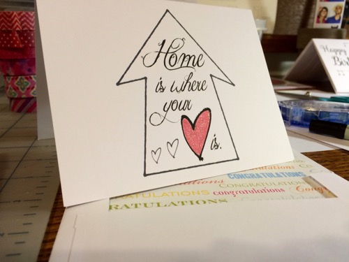 52 Weeks of Mail: Week 17 | Congrats: New Home 2