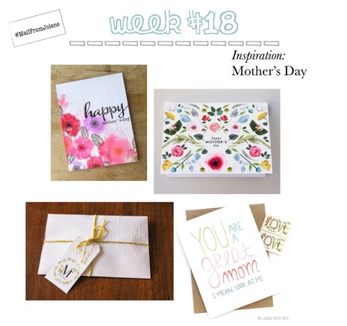 52 Weeks of Mail: Week 18 Inspiration Mother's Day