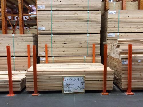 One Room Challenge-Week 2- Shed Makeover Progress lumber