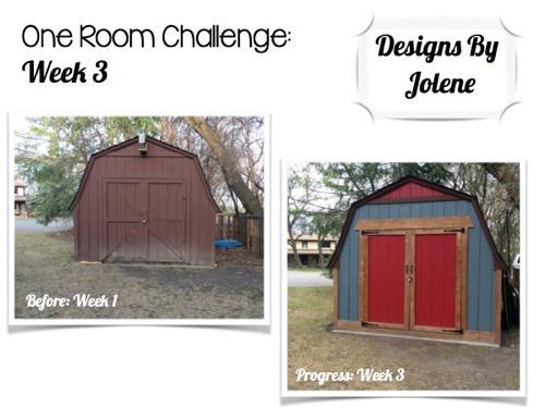 One Room Challenge: Week 3 Shed Makeover Progress 13