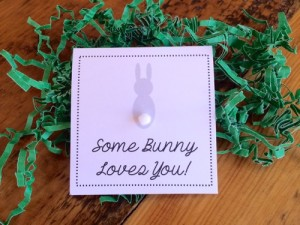 Some Bunny Loves You Mini 3x3 Card 2