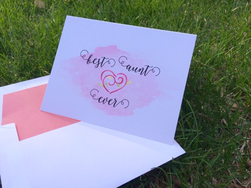 52 Weeks of Mail: Week 18 Mother's Day Cards 1
