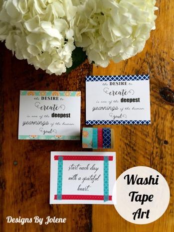 52 Weeks of Mail: Week 19 Washi Tape Art 5