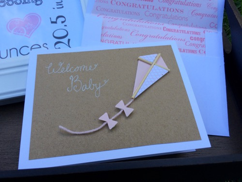 52 Weeks of Mail: Week 22 | New Baby Card and Nursery Wall Art 1