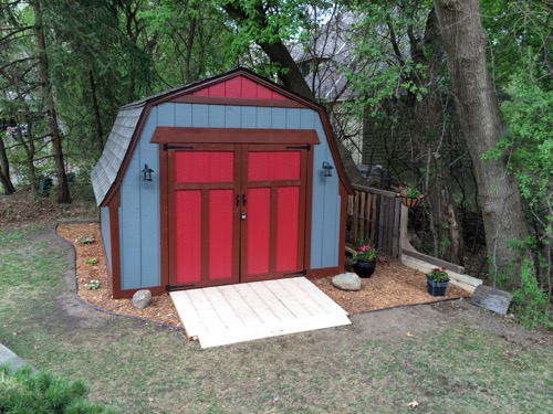 One Room Challenge: Week 6 Shed Makeover | The Final Reveal