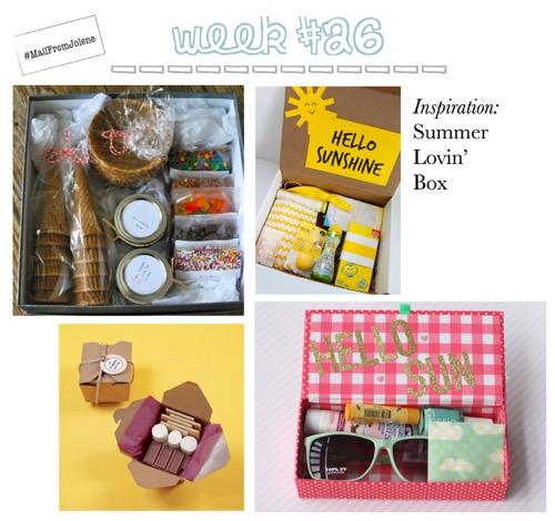52 Weeks Of Mail-Week 26 Inspiration Summer Lovin' Box