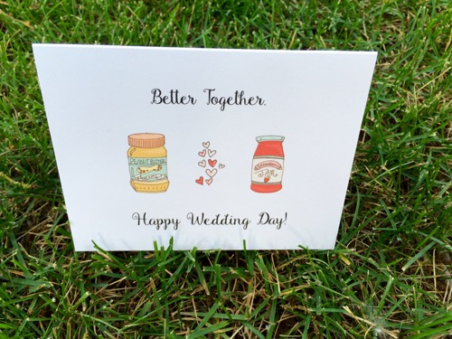 52 Weeks of Mail: Week 25 Inspiration Wedding Wishes 1