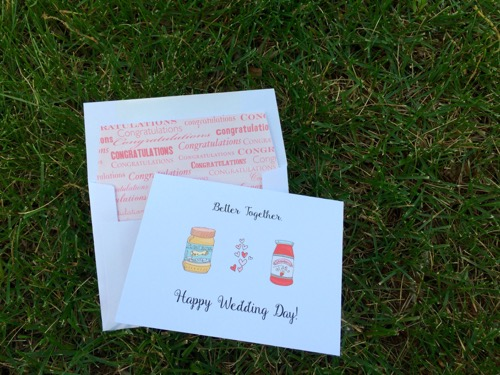 52 Weeks of Mail: Week 25 Inspiration Wedding Wishes 3