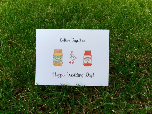 52 Weeks of Mail: Week 25 Inspiration Wedding Wishes 4