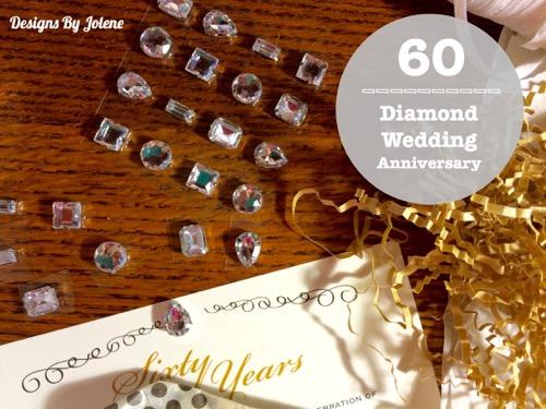 52 Weeks Of Mail- Week 28 60th Wedding Anniversary Invitation - Diamond Anniversary