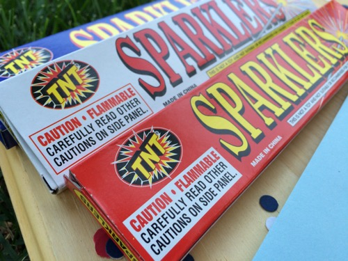 52 Weeks of Mail: Week 27   4th of July Sparkler Mail 2