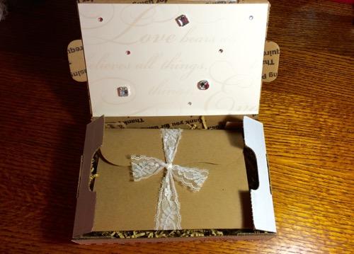 52 Weeks of Mail: Week 28   60th Wedding Anniversary Invitation