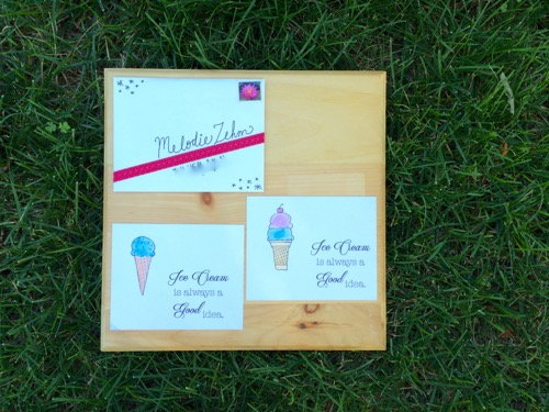 52 Weeks of Mail: Week 29 National Ice Cream Day 2