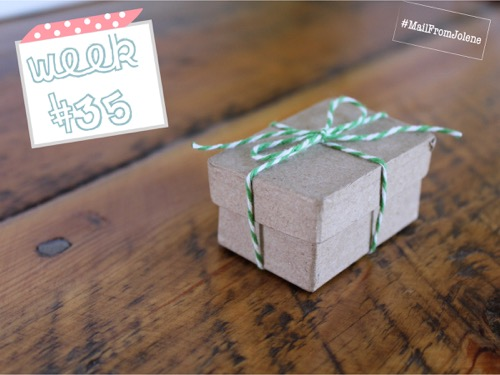 52 Weeks Of Mail- Week 35 Feature Photo | Mini Birthday Box
