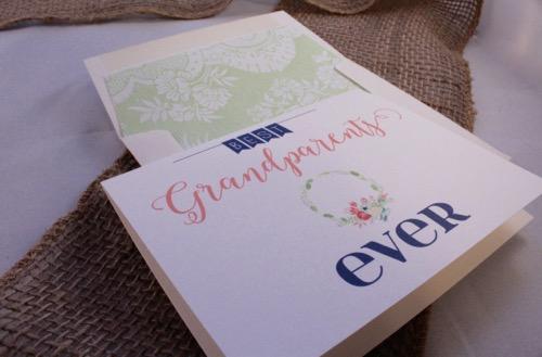 52 Weeks of Mail: Week 36 Grandparents Day Card