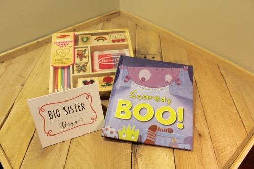 52 Weeks of Mail: Week 40 | New Baby Family Package 3 Big Sister