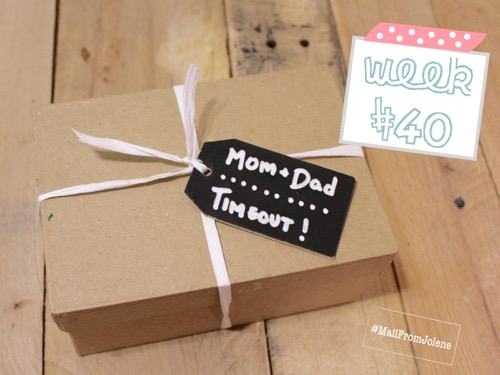 52 Weeks of Mail: Week 40 | New Baby Family Package 4 Mom and Dad Timeout