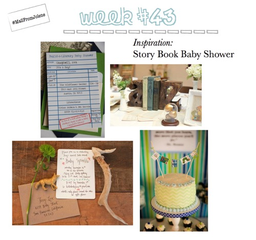 52 Weeks Of Mail-Week 43 Inspiration Story Book Baby Shower