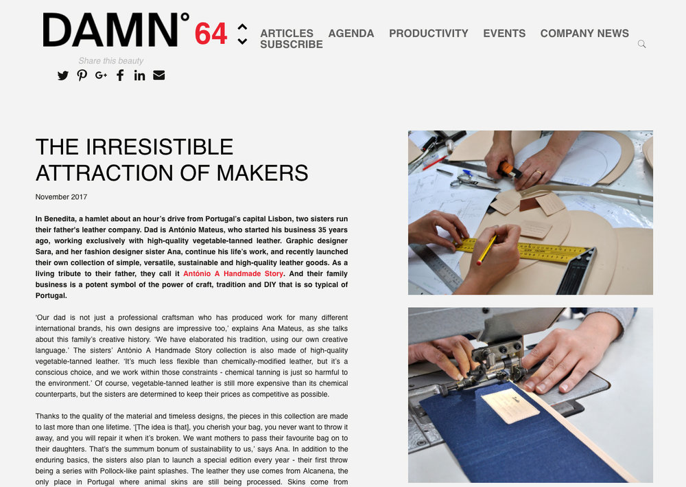 DAMNº magazine - DAMN we are so happy to hear this newsMany thanks Vos for your precious words.