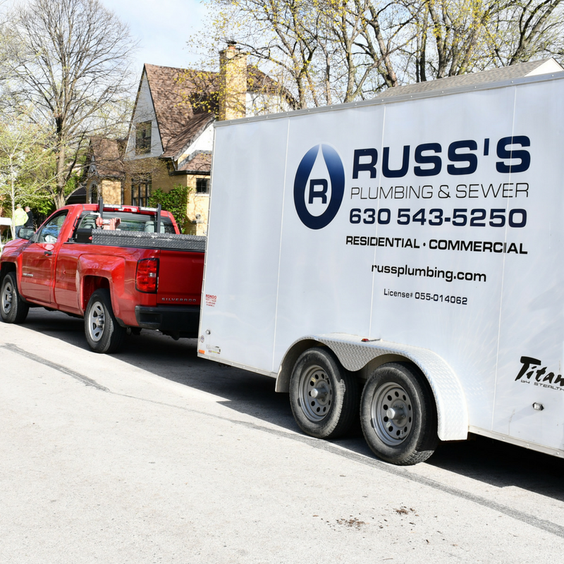 Why Use Our Plumbing Services - We know that you have lots of plumbers to choose from in the Addison area, however when you choose Russ's Plumbing & Sewer Inc., you can be confident . . .