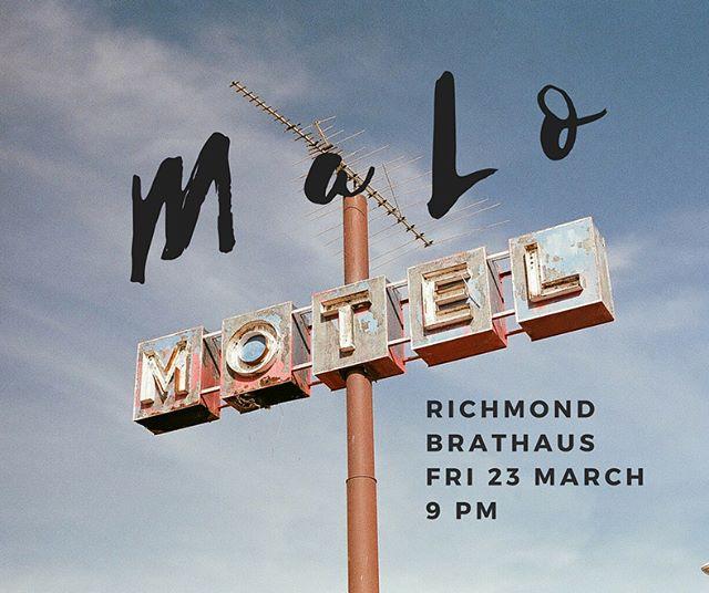 D O U B L E ✨ H E A D E R  See you this weekend, friends. #maloband  #chicago  #emergingartist #vinylartist  #blues