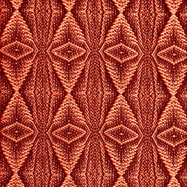 Sandstone Red Bold Twill