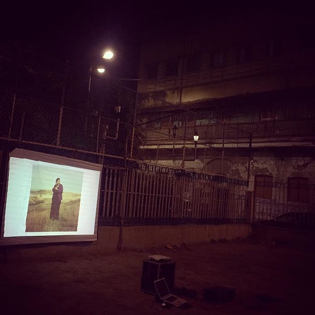After scouting for a few locations setting up in old nostalgic squares on #NorthKolkata yesterday! Come by today to Mollickpara Slum if you want to catch the projections tonight! . . . #Japf3 #Guerilla #PublicArt #NewMedia #VisualCulture #Kolkata #India @mtsalvati