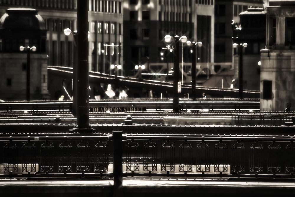 HDR_NR_Chicago_Bridges Over River_BW.jpg