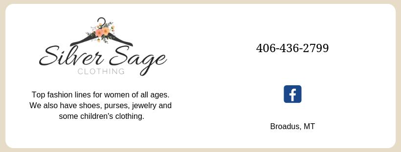 Silver Sage Clothing Facebook