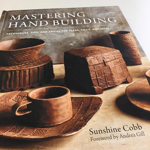 Picked this up from the library today. It's a really nice book! . . . #ceramics #pottery #potter #clay #handbuilding #librarian #hamiltonpubliclibrary #hpl #hamont