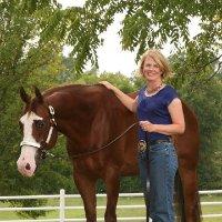 Karen Waite photo with horse.jpg
