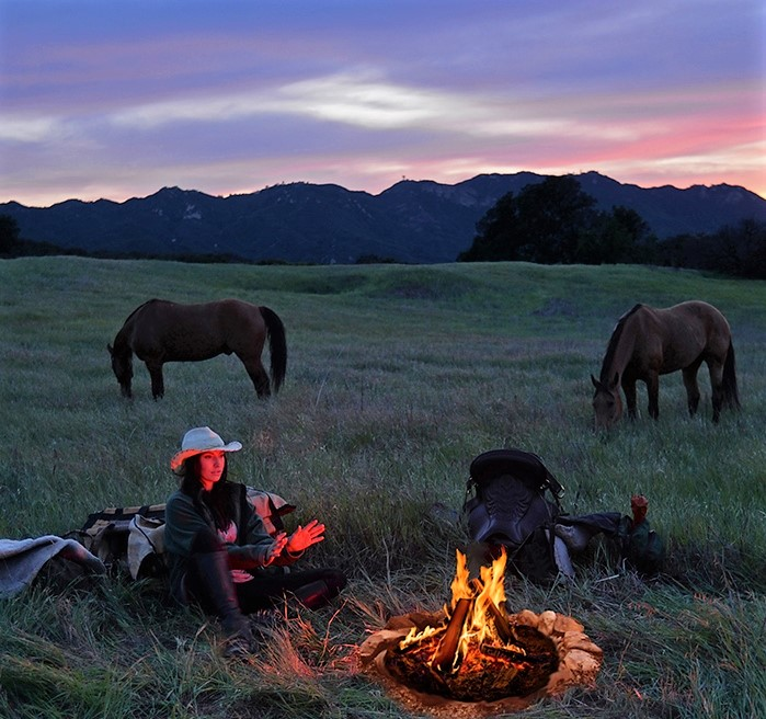 Gillian camping out with horses.jpg