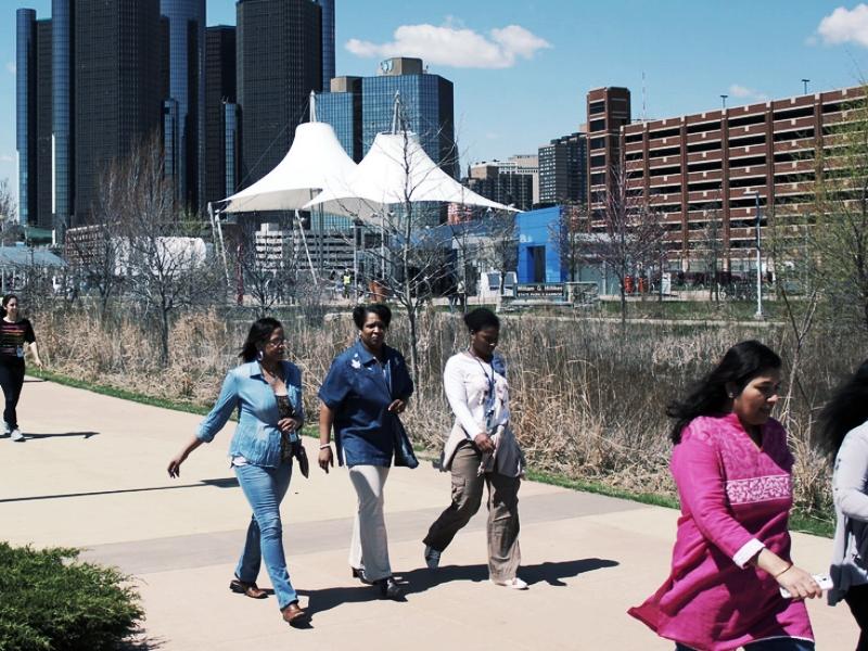 Detroit, Michigan, USA - Kimberly Seibel & Samir Al-Mandwee