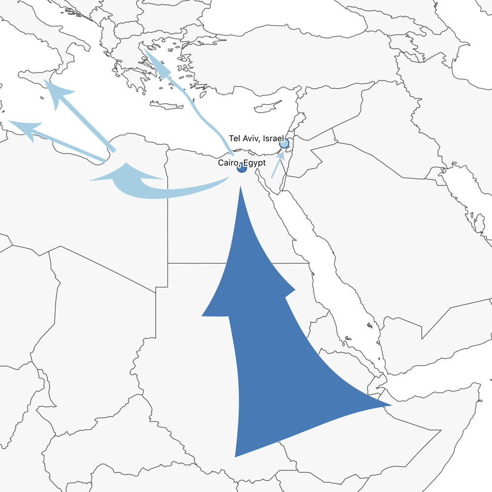 The Northern Africa Route