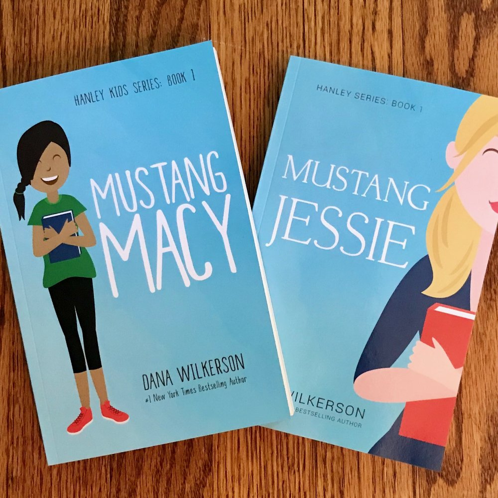 Companion Novels: Mustang Macy (for middle-grade readers) and Mustang Jessie (for adult readers)