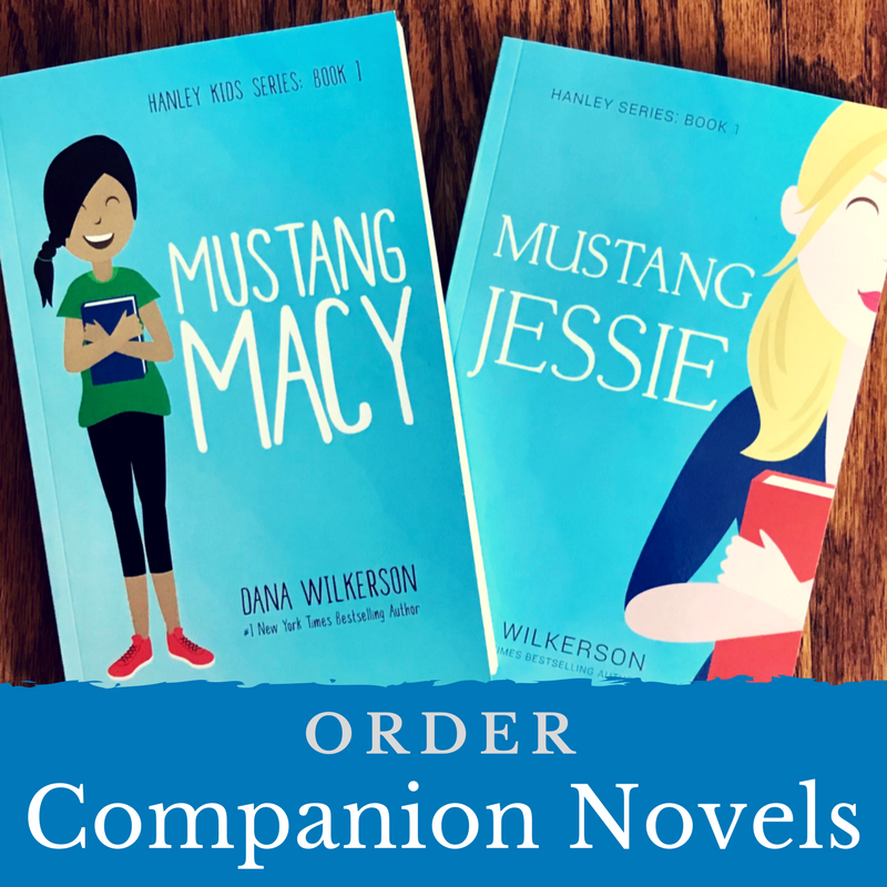 Order the companion novels: Mustang Macy and Mustang Jessie