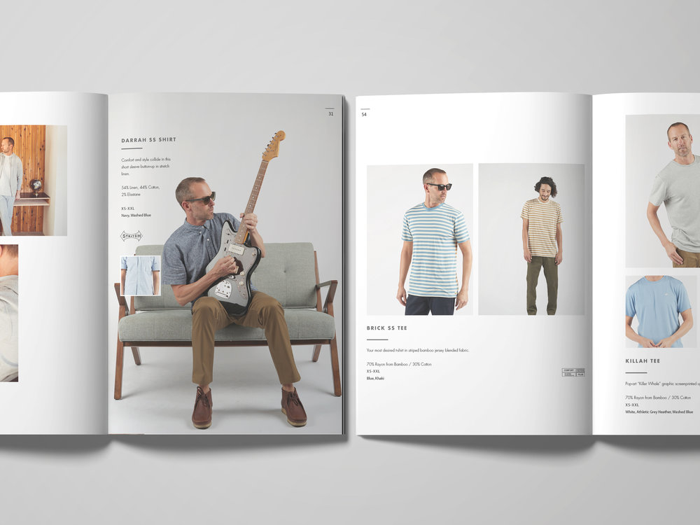 Catalog / Lookbook Design.