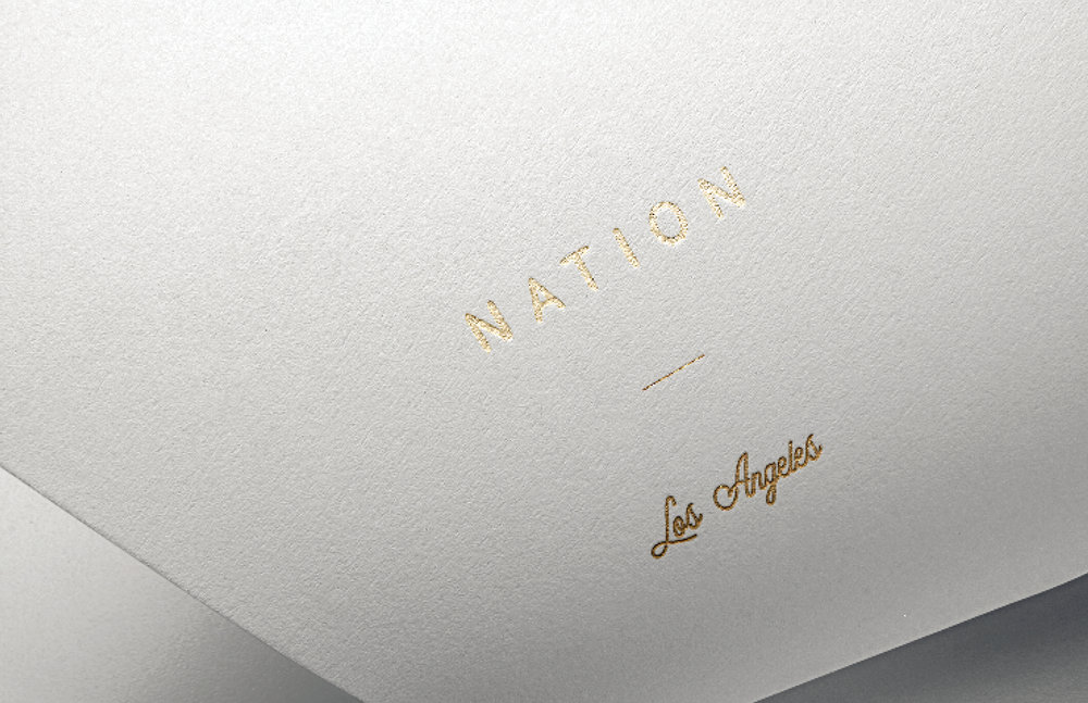 Nation LA    Branding exploration