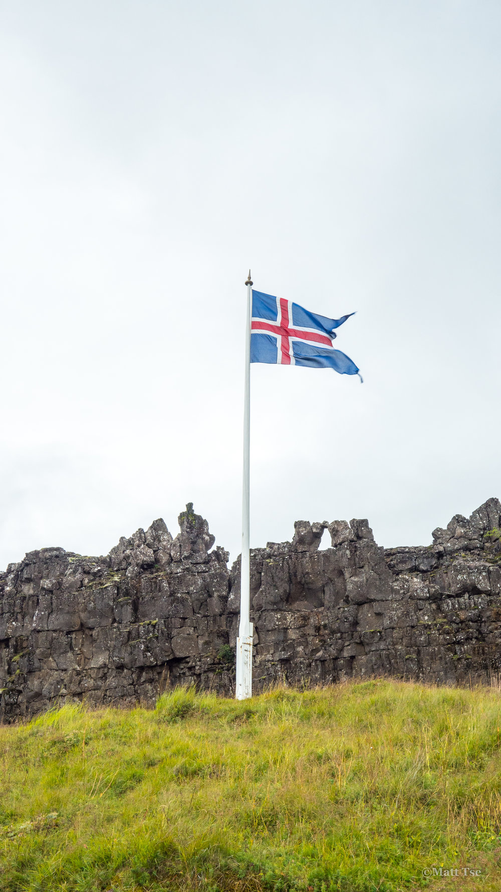 Marking first area of Icelandic Parliment
