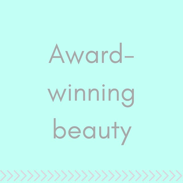 Beauty awards? We've got the entries covered, and we want to help you win 🏅