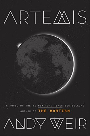 Artemis Andy Weir Cover
