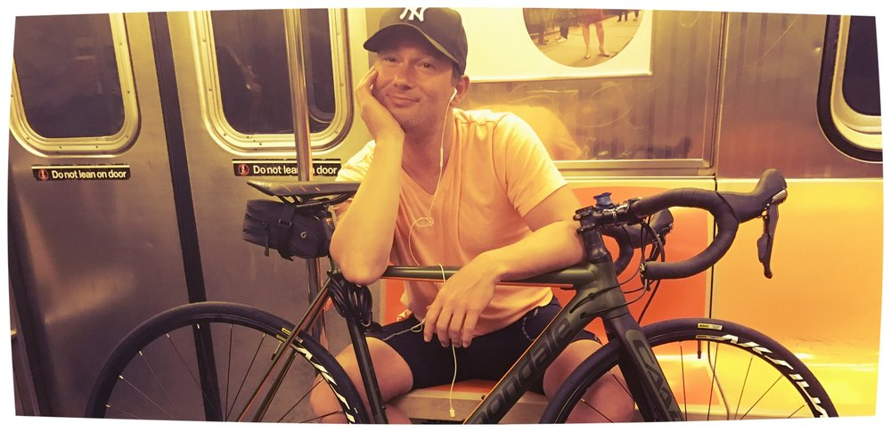 John McKee with Brooklyn Giro Bike Tours