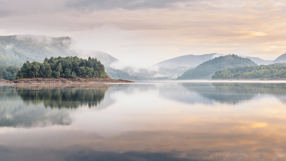 A Summer Morning - Thirlmere