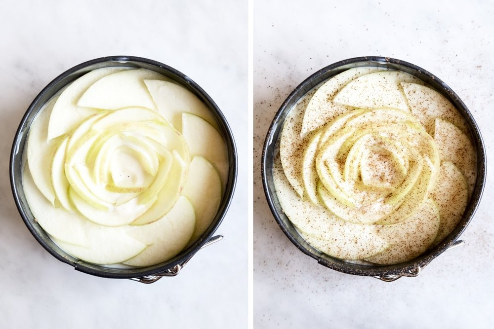 fryst äppeltårta bilder recept