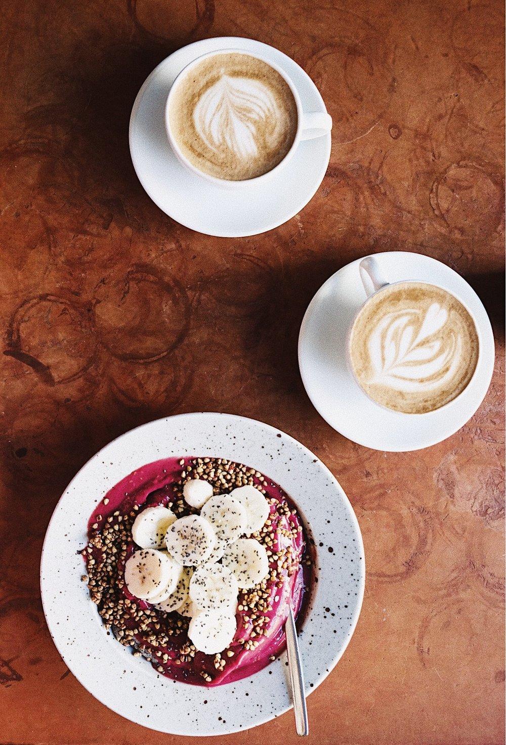 Jag åt frukost med fina  Sassa  som jag lärt känna via Sociala Medier. Så härlig och inspirerande tjej!