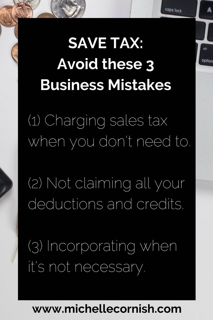 Tax tips - Save tax by avoiding these costly mistakes when starting your business in Canada.png