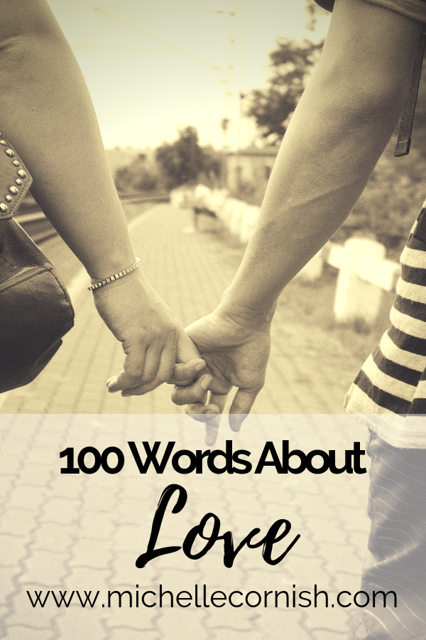 A drabble is a 100-word story. Here's 100 words I wrote about love.