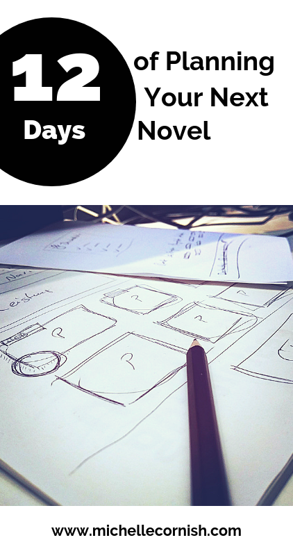 Check out my 12-day series about planning a novel. Day one is deciding what to write about.