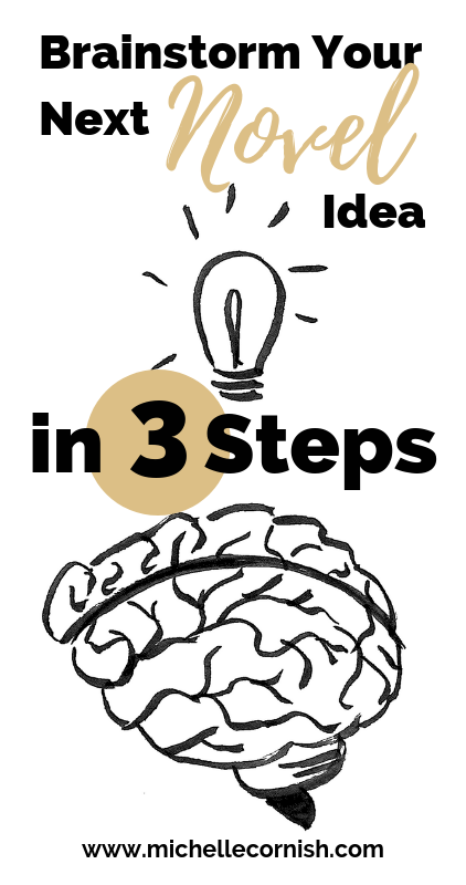 Brainstorming story ideas doesn't have to be overwhelming. Here are three steps to come up with a great story idea.